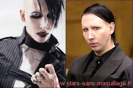 brian hugh warner marilyn manson sans maquillage