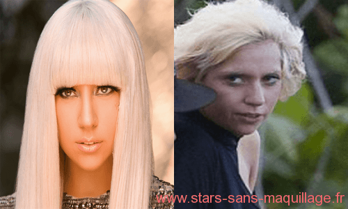 Lady gaga sans maquillage