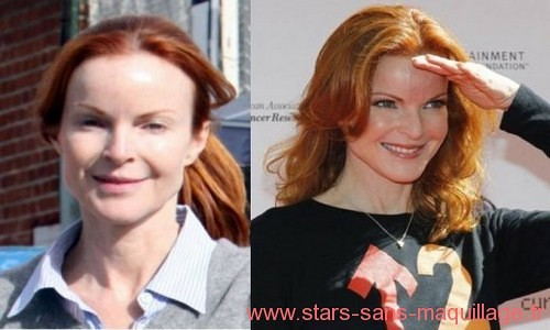 Marcia Cross sans maquillage