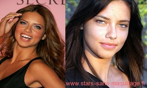 adriana lima sans make up