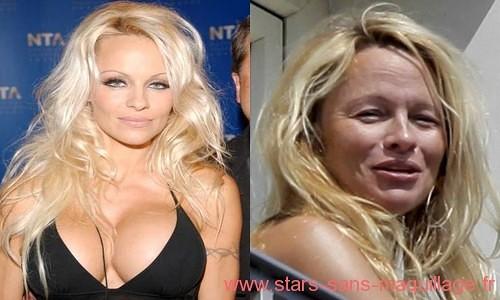 Pamela Anderson sans maquillage