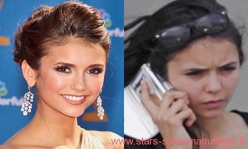 Nina dobrev sans maquillage