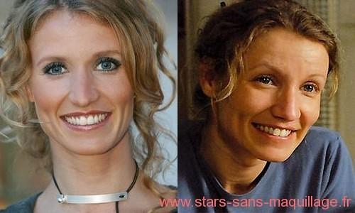 Alexandra Lamy sans maquillage