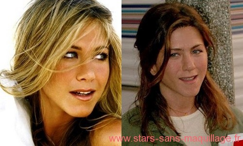 Jennifer Aniston sans maquillage