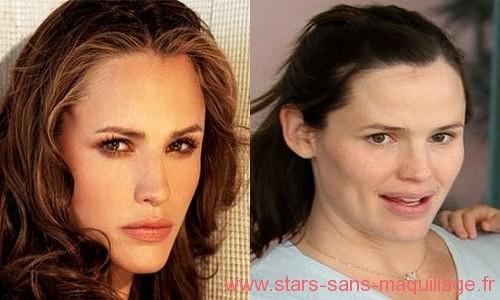 Jennifer garner sans maquillage
