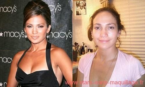 Jennifer lopez sans maquillage