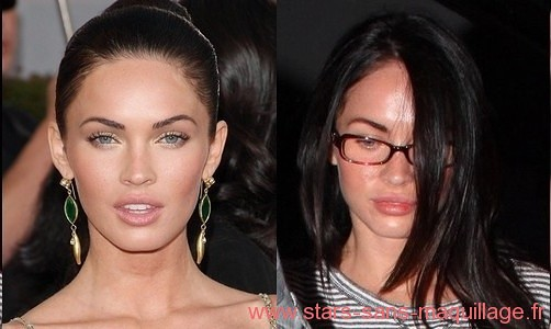 Megan Fox au naturel