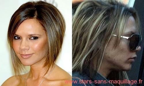 Victoria Beckham sans maquillage