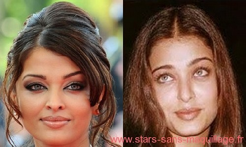 Aishwarya rai sans maquillage