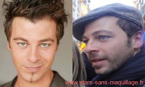 Christophe Mae sans maquillage