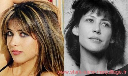 Sophie Marceau sans maquillage