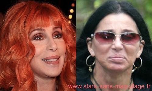 Cher sans maquillage