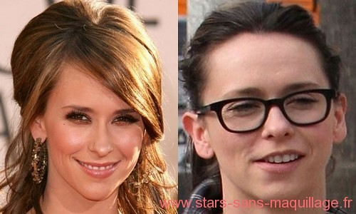 Jennifer Love Hewitt sans maquillage