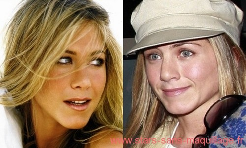 Jennifer Aniston au naturel
