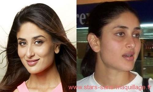 Kareena Kapoor sans maquillage