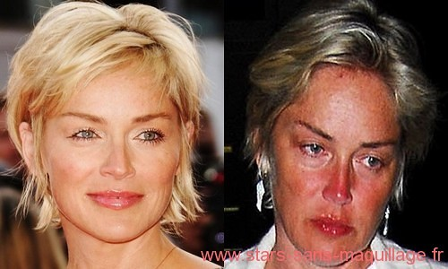 Sharon Stone au naturel