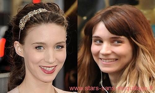 Rooney Mara sans maquillage