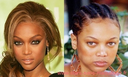Tyra Banks sans maquillage