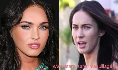 megan fox sans make up