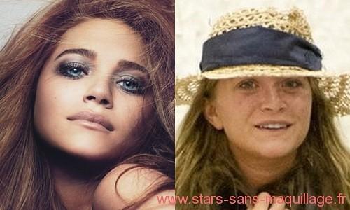 Marykate olsen sans maquillage