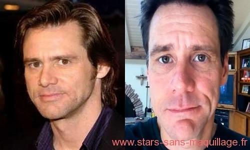 Jim Carrey sans maquillage
