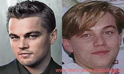 Leonardo Di caprio sans maquillage