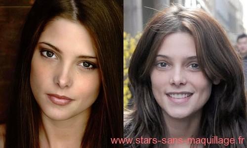 Ashley Green sans maquillage