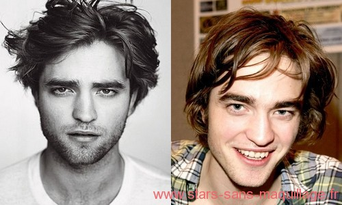 Robert Pattinson sans maquillage