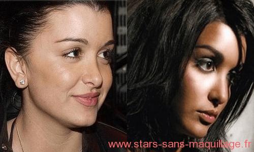 Jenifer Bartoli sans maquillage