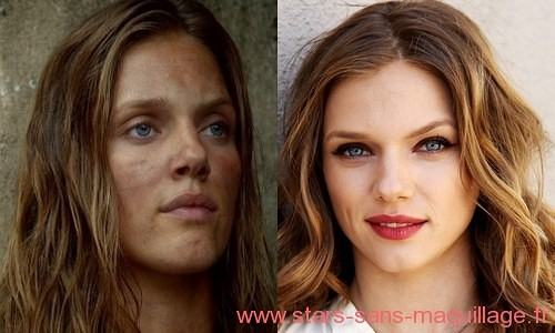 Tracy Spiridakos sans maquillage