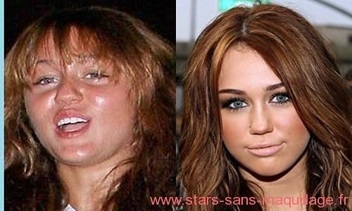 Miley Cyrus naturelle