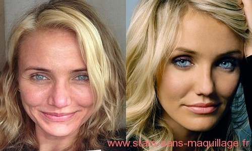 Cameron Diaz sans Make-up