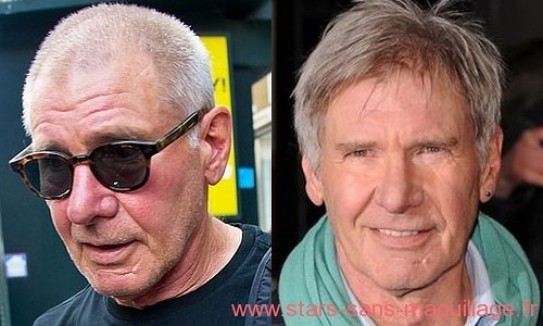 Harrison Ford sans maquillage