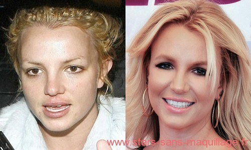 Britney Spears au naturel