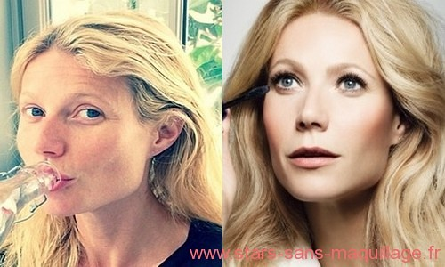 Gwyneth Paltrow au naturel