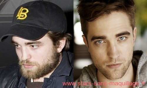 Robert Pattinson au naturel