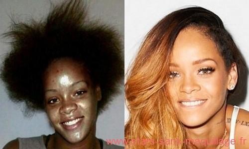 Rihanna naturelle