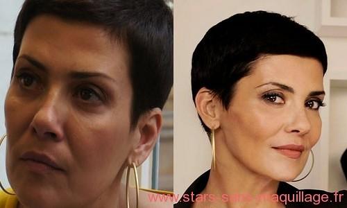 Cristina Cordula sans maquillage