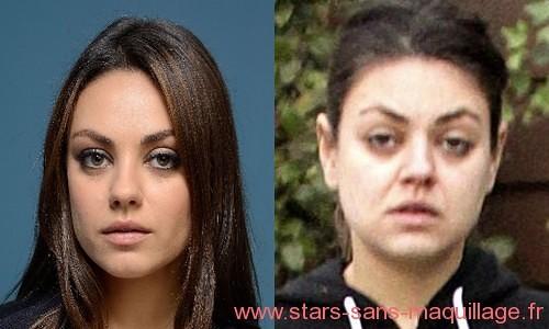 Mila Kunis naturelle