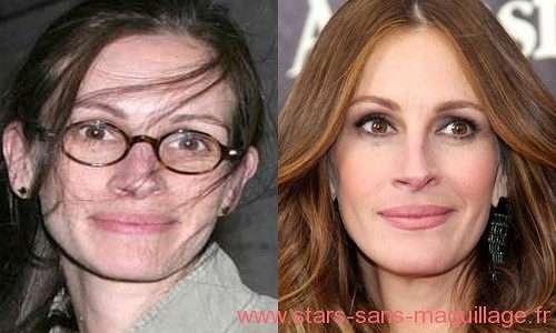Photos de Julia Roberts naturelle