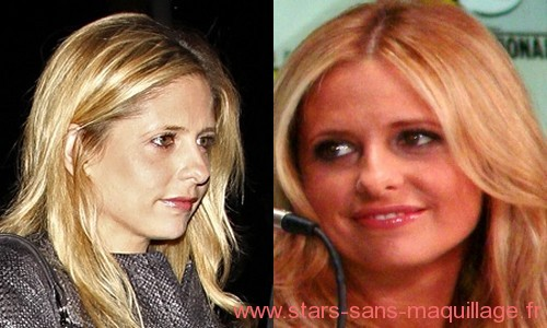 Photos de Sarah Michel Gellar sans maquillage
