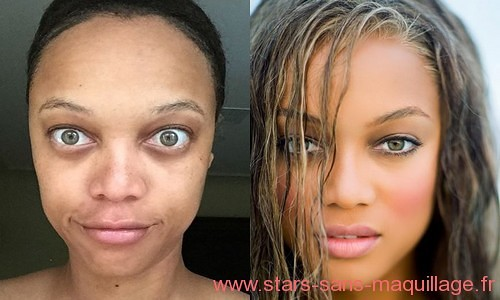 Tyra banks sans make-up
