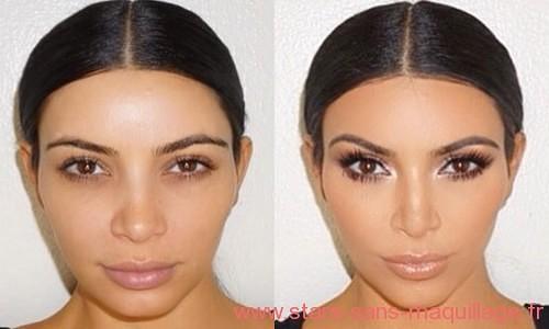 Kim Kardashian naturelle