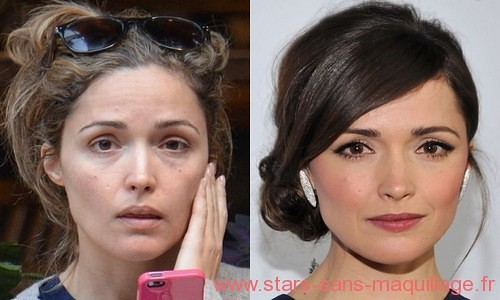 Rose Byrne sans maquillage