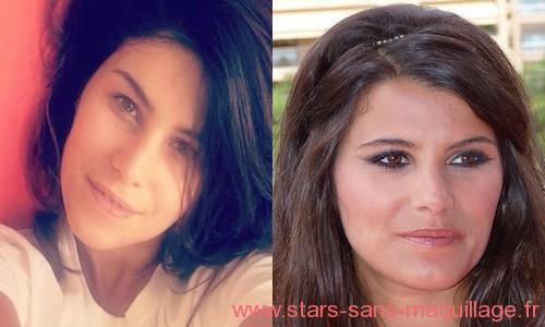 Karine Ferri sans maquillage