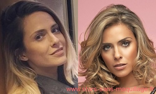 Clara Morgane au naturel