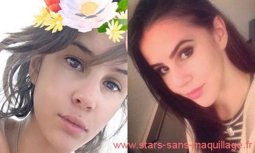 Marina Kaye sans maquillage