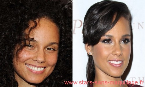 Alicia keys au naturel