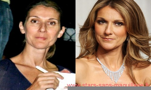 Photos de Celine Dion sans make-up