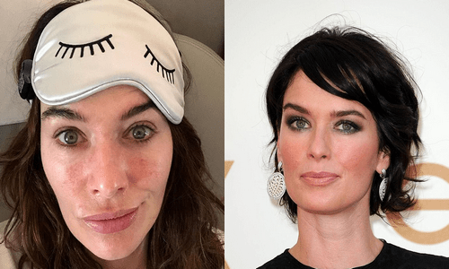 Lena Headey sans maquillage